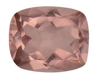Blush Triplet Quartz Cushion Cut Loose Gemstone 1A Quality 11x9mm TGW 3.45 cts.