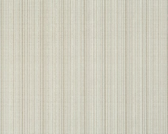 Contemporary Zipper Teeth Textural Metallic Wallpaper R1896