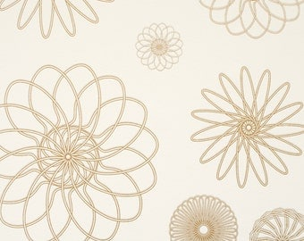 Cluster Gold Wallpaper R2222