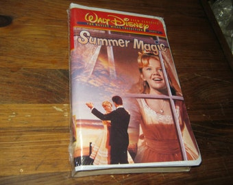summer magic hayley mills collection sealed disney vhs film classics clamshell oop