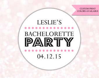Bachelorette party stickers - Bachelorette stickers - Bridal shower stickers (RW056)