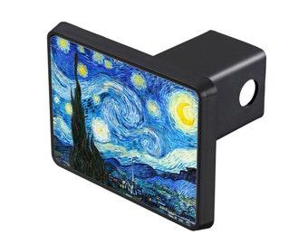 Starry Night Trailer Hitch Cover, Van Gogh Car Trailer Hitch Cover, Starry Night Trailer Hitch Cover, Van Gogh Trailer Hitch Cover-25-701