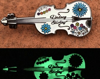 Lindsey Stirling Electric Daisy Violin Pin