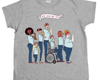 Intersectional Rosie -- Women's T-Shirt