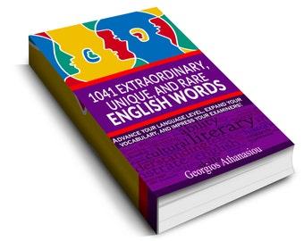1041 Extraordinary, unique, and rare English words