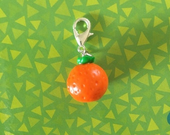 Animal Crossing Orange Charm