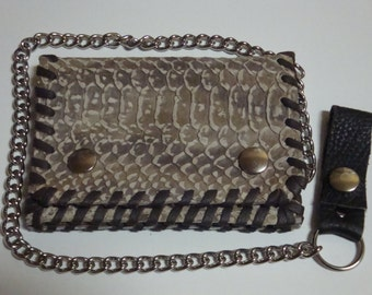 wallet, real leather, Snake,Reptil