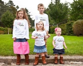 Sibling Rules Shirts