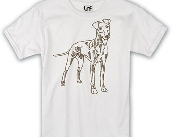 Manchester Terrier Dog Mens T-Shirt