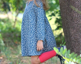 SALE 20%, BEFORE- 34.99, NOW-27.99, Dress toddler girl/ autunmn /winter / green /Girls tunic / Classic toddler clothings / Size 2T - 10