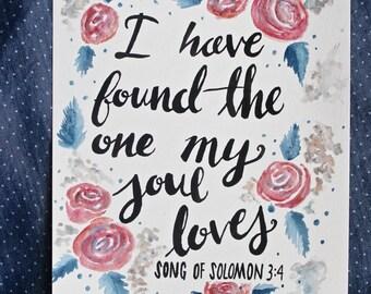Song of Solomon 3:4 Print