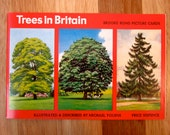 PG Tips Brooke Bond Trees in Britain Collector's Album & Separate Set of Picture Tea Cards