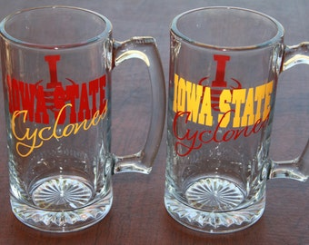 Iowa State Cyclones Glassware