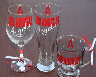 Los Angeles Angels Glassware