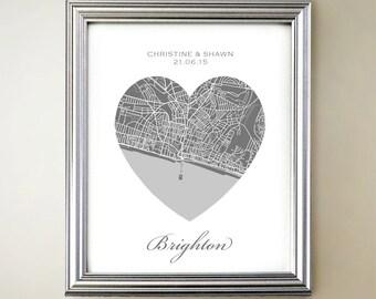 Brighton Heart Map