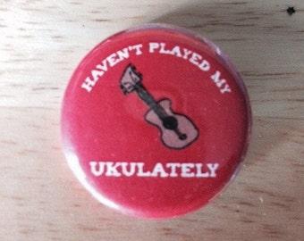 "Ukulele button or magnet, 1.25"""