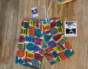 """Amazing 60s Hippie  Jams by Campus sz 28""""-29"""" W in Excellent Cond"""
