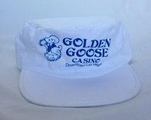 1970's Golden Goose Casino Downtown Las Vegas Vintage Snapback Hat