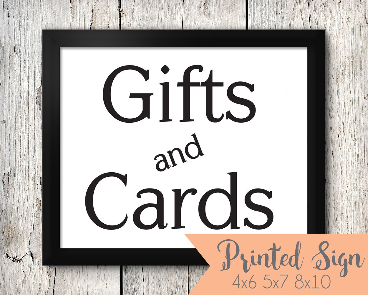 Cards And Gifts Sign, Cards & Gifts Sign, Cards and Gift Sign, Card and Gifts Sign, Cards Sign, Gift Sign, Wedding Sign, Wedding Signs WeddingSigns99CENT. 5 out of 5 stars (1,) $ Eligible orders get 20% off Favorite Add to See similar items +.