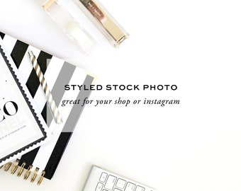 Styled Stock Photography - Designer's Desk