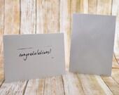 Congratulations Card, Congrats Card, Simple Congratulations Card, Generic Congratulations Card, Generic Congrats Card