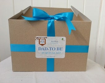 Humorous yet Thoughtful Dad to Be Survival Box
