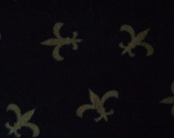 Sew Perfect AP Fleur de Lys Fleece Fabric by the yard