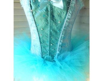 Princess Cinderella Corset Rave Costume
