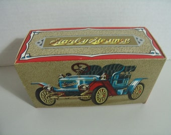 Vintage Avon Collectible Bottle Stanley Steamer Car with Windjamer Aftershave New
