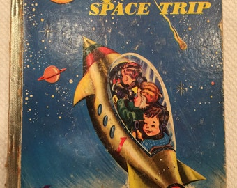 Johnny's Space Trip; 1954; Little Owl Book