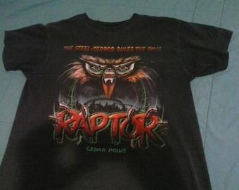 Cedar Point Raptor shirt (M)