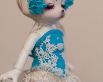 Set for dolls 20cm Lati Yellow SP, RealFee, DearMine DP, Zuzu delf.