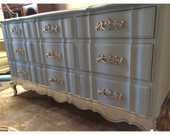 French Provincial Dresser, Nursery, Changing table, Buffet, Tv Stand, Credenza