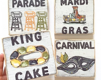 New Orleans Art Lagniappe by HomeMaloneNOLA on Etsy