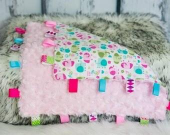 Elephant Tag Blanket