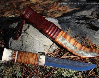 Leuku knife, hunting/outdoor knife
