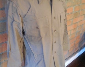 Vintage Mens Work Shirt