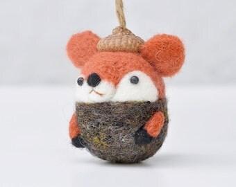Fox ornament | Etsy