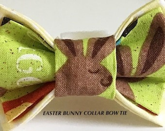 Easter Bunny Bow Tie for Male Dogs and Cats