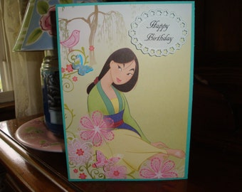 Items Similar To Minnie Mouse Birthday Card Personalized