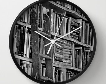 Black Wall Clocks white wall clock | etsy
