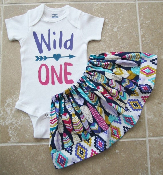 Wild One Birthday Outfit Girl First Birthday Outfit Pink