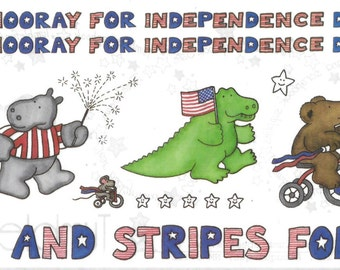 Tumblebeasts INDEPENDENCE DAY Stickers