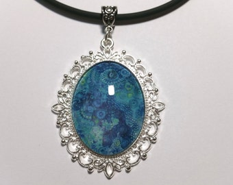 """Pendant """"Abstract Blue 2"""""""
