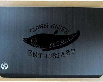 Clown Knife fish decal in 11 colors