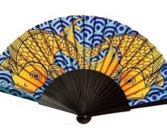 The Anna - Koi Hand Fan