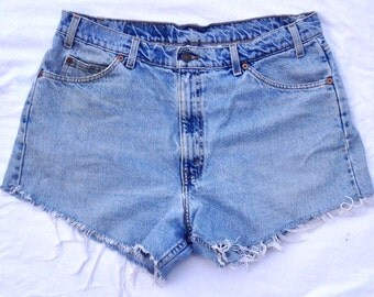 Vintage Levi Cuttoff Shorts