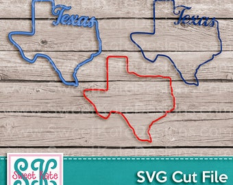Texas Outline SVG JPG PNG usa svg {Scrapbook Die Cut Heat Transfer Vinyl Cut} Cricut svg Silhouette svg Instant Download Sweet Kate Designs