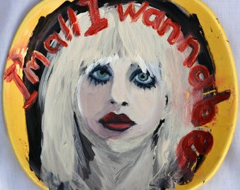 Anonymous Yellow Saucer _ Courtney Love