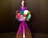 Custom Wedding  Broom, African Jumping Broom, Wedding Broom we can design any style broom for your wedding Please message us